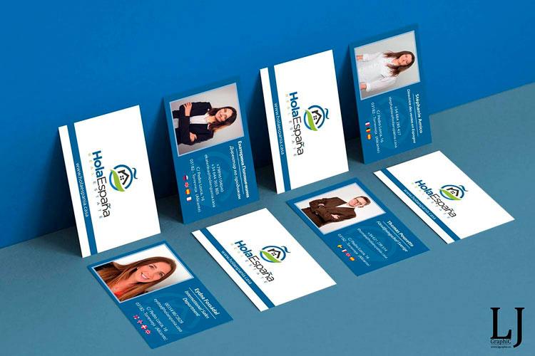 Diseño e impresión de tarjetas de visita Torrevieja