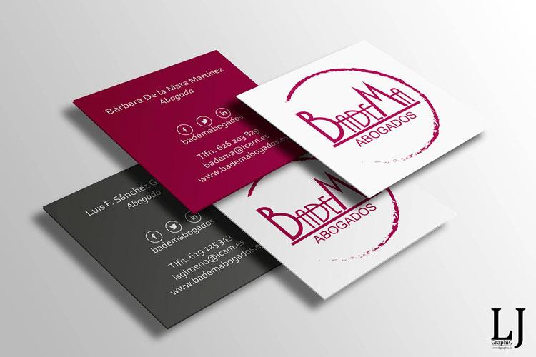 Impresión y diseño de tarjetas de visita