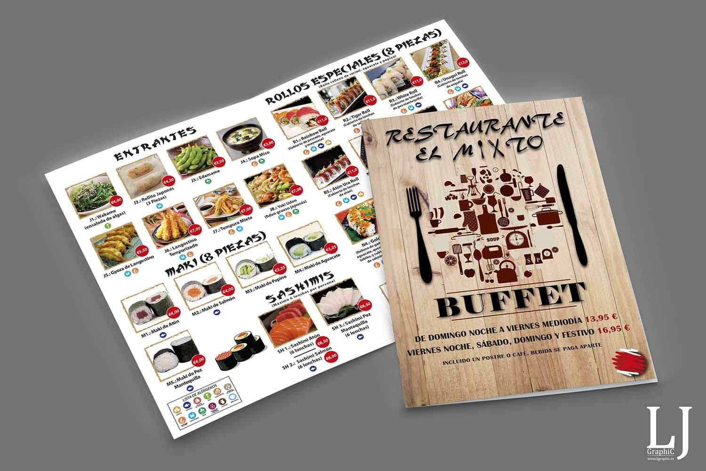 Cartas Restaurante El Misto