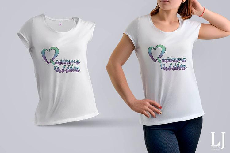 Camisetas impresas una cara